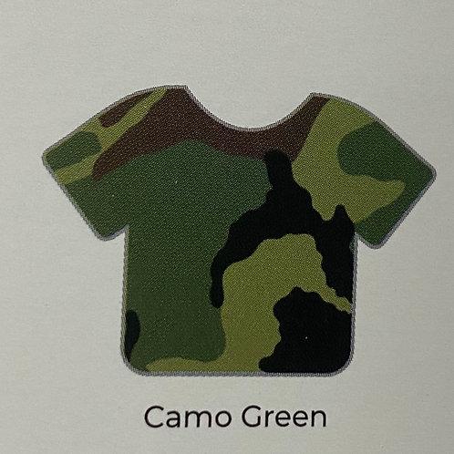 Pattern- Camo Green
