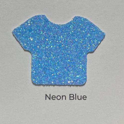 Glitter-Neon Blue