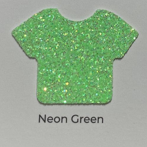 Glitter-Neon Green