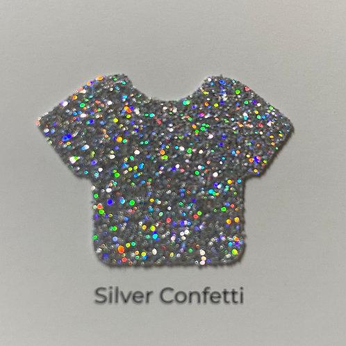 Glitter - Silver Confetti