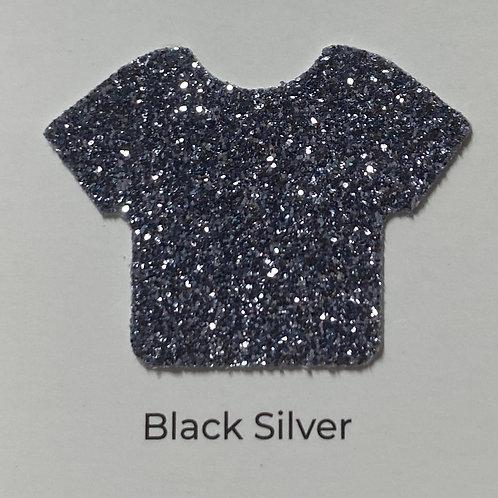 Glitter -Black Silver
