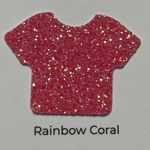 Glitter- Rainbow Coral