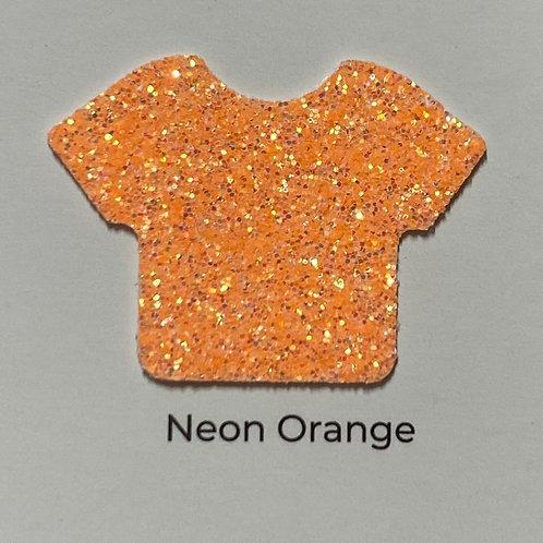 Glitter-Neon Orange