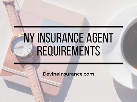 NY Insurance Agent Requirements