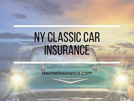 NY Classic Car Insurance