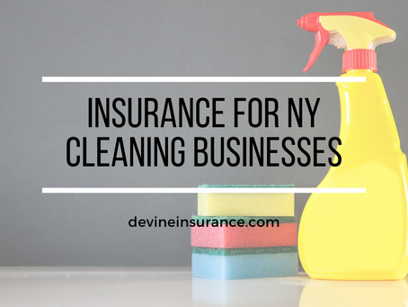 Insurance for NY Cleaning Businesses