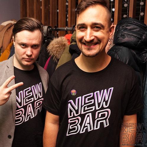 "Футболка New Bar ""неон"""