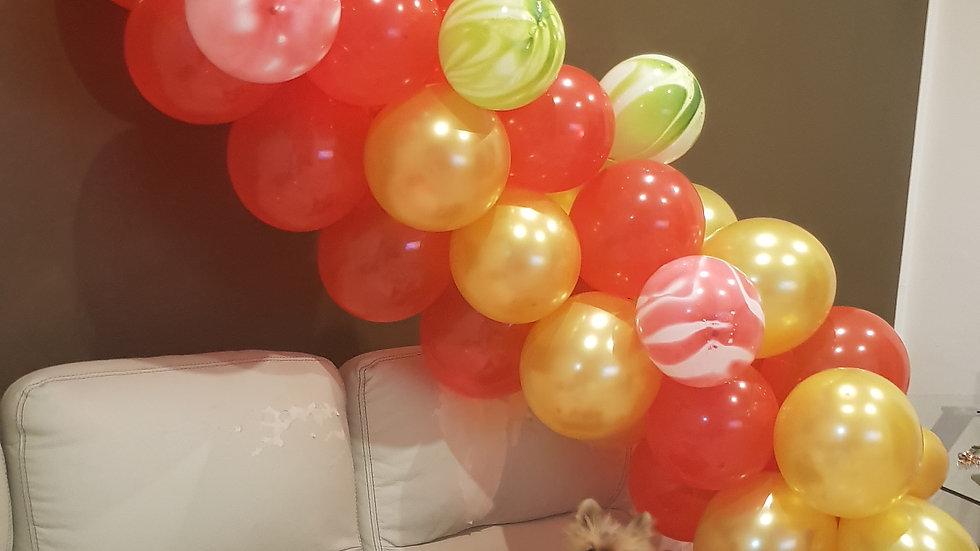 festone di palloncini già composto