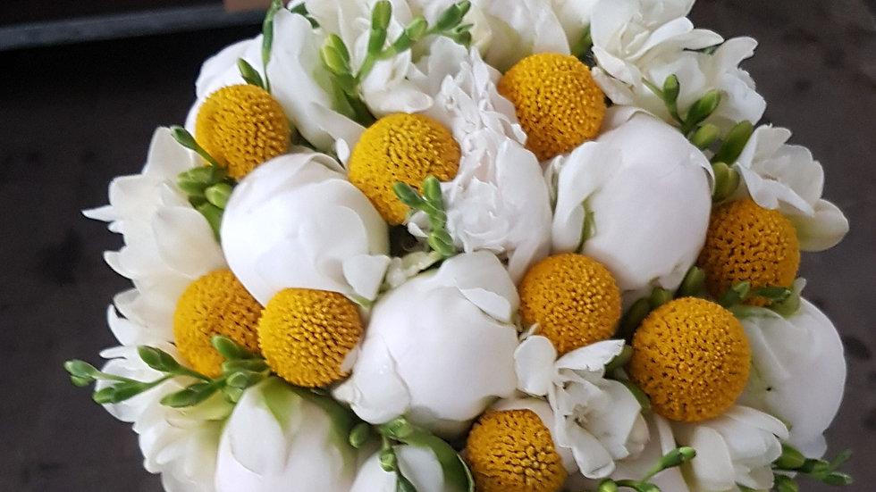 mazzo fiori gialli e bianchi