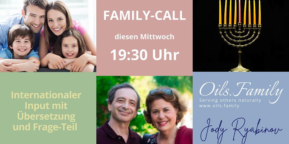 Family-Call NUR FÜR MITGLIEDER DER Oils.Family