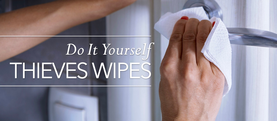 DIY Care: THIEVES WIPES