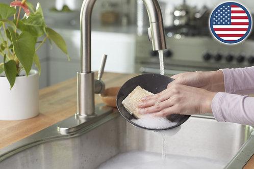 Casabella - 美國品牌絲瓜絡天然纖維雙面洗碗綿