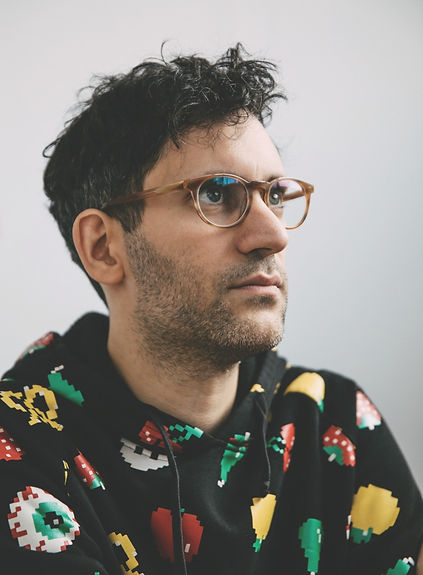Jon Burgerman portrait photo