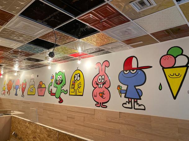 Scooops ice cream shop