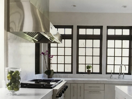 WHITE CABINETS ALWAYS BRING OUT THE BEAUTY AND DESIGN WHEN IT ALL COME TO GETHER IN THE KITCHEN
