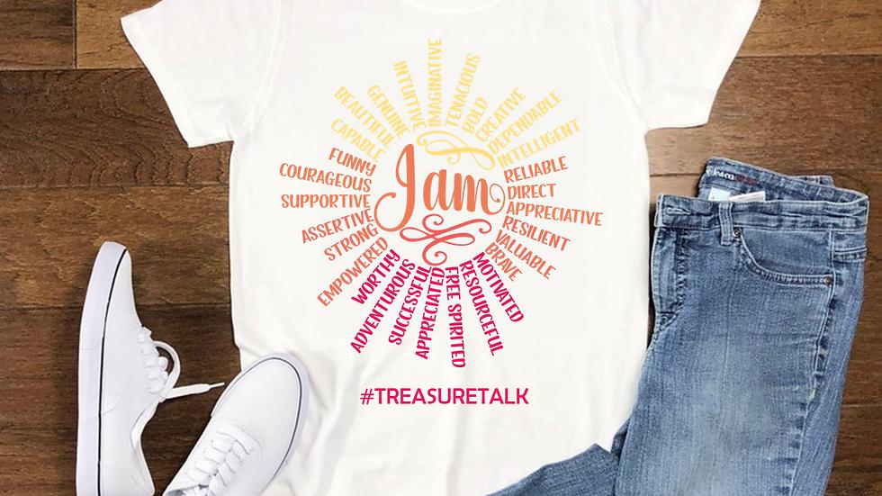 TreasureTalk Affirmations T-Shirt