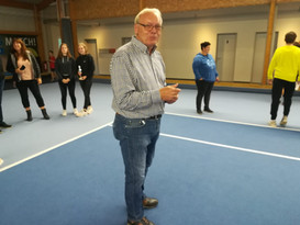 Start desr Sparkassen Winter-Cup's in Emlichheim