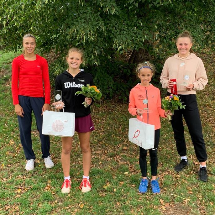 Landesmeisterschaften der Tennisjugend - Landesvizemeister unter anderen Leonie Bisschop