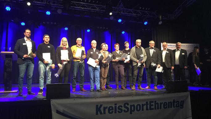 Vereinsheld-Ehrung des KSB Grafschaft Bentheim in Rahmen des KreisSportEhrentages - Rudolf Lichtenbo