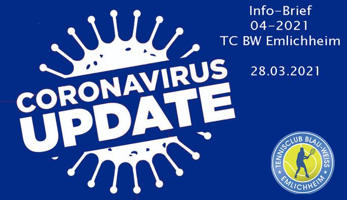 Infobrief 04-21 für die Mitglieder des TC BW Emlichheim e.V.