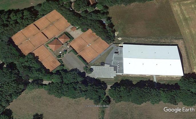 Tennishalle öffnet wieder ab dem 07.09.2020