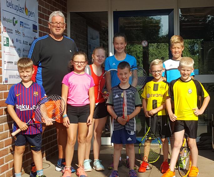 Bericht vom Tenniscamp in den Sommerferien 2019 beim TC BW Emlichheim