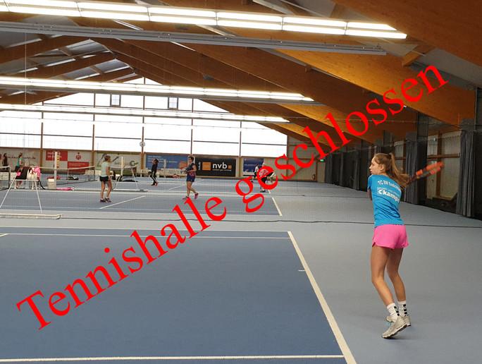 Aktuelle Information zum Betrieb unserer Tennishalle