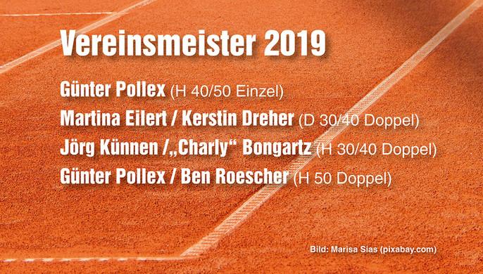 Günter Pollex ist zweifacher Vereinsmeister