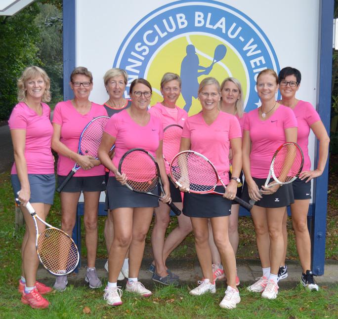 Damen 40 II steigen in die Bezirksliga auf