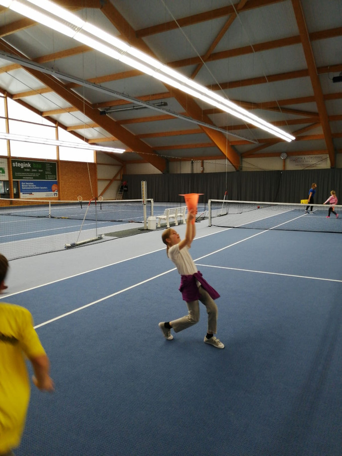 """""""Schnuppernachmittag Tennis"""" des TC BW Emlichheim für Schüler des Low T-Ball-Turniers der"""