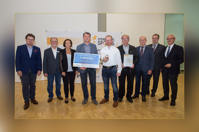 """TC BW Emlichheim auf dem Siegertreppchen bei """"Sterne des Sports"""""""