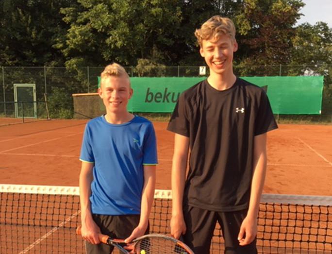 B-Junioren des TC Blau-Weiß Meister in der Regionsliga
