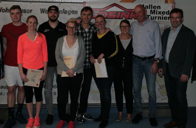 Kuprecht und Strathmann gewinnen Emlichheimer Mixed-Turnier