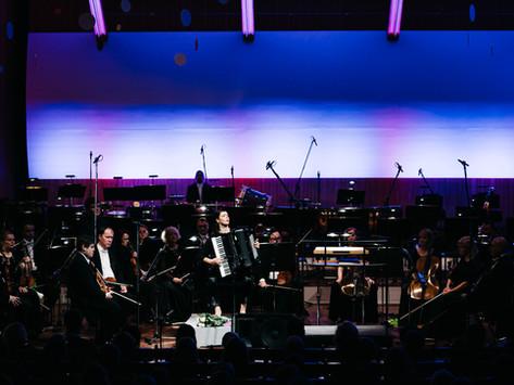 LNSO Vecgada koncerts ar Kseniju Sidorovu. Atskats