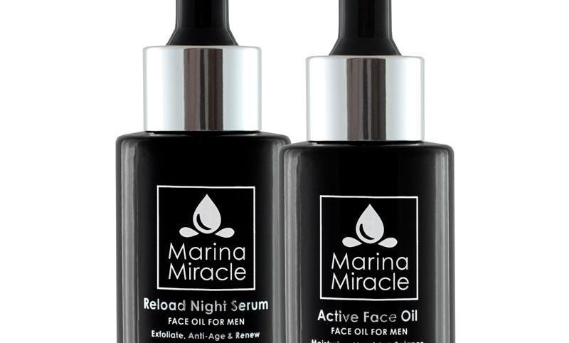 Marina Miracle Reload Night Serum & Active Face Oil