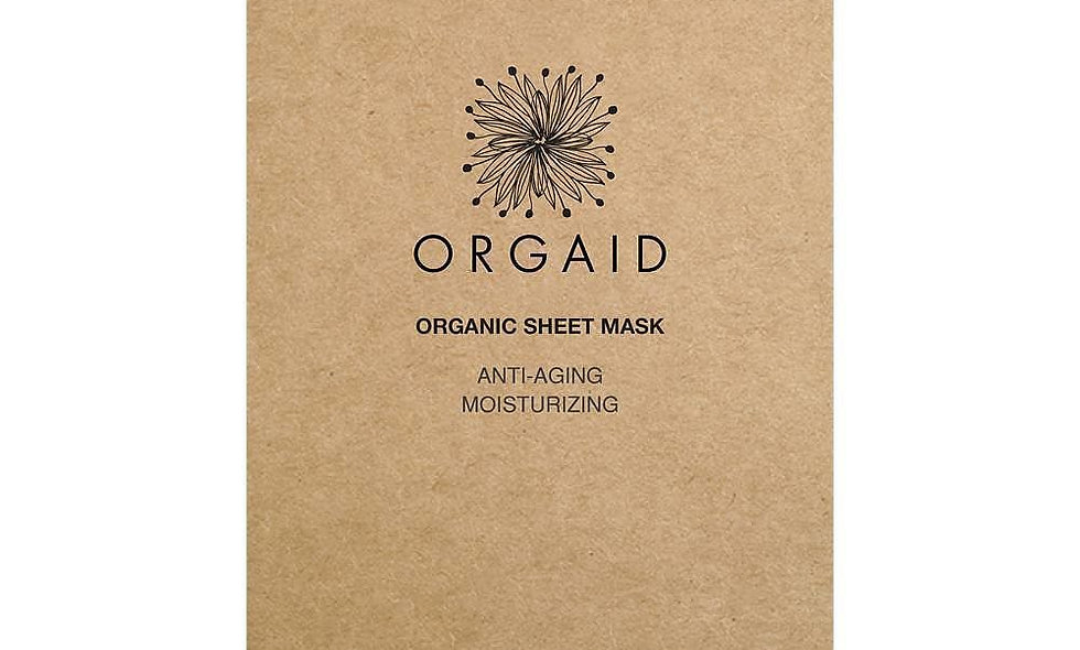 ORGAID Anti-Aging & Moisturizing Organic Sheet Mask (1 stk.)