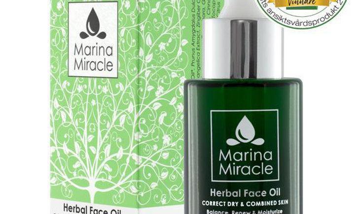 Herbal Face Oil (liten flaske)