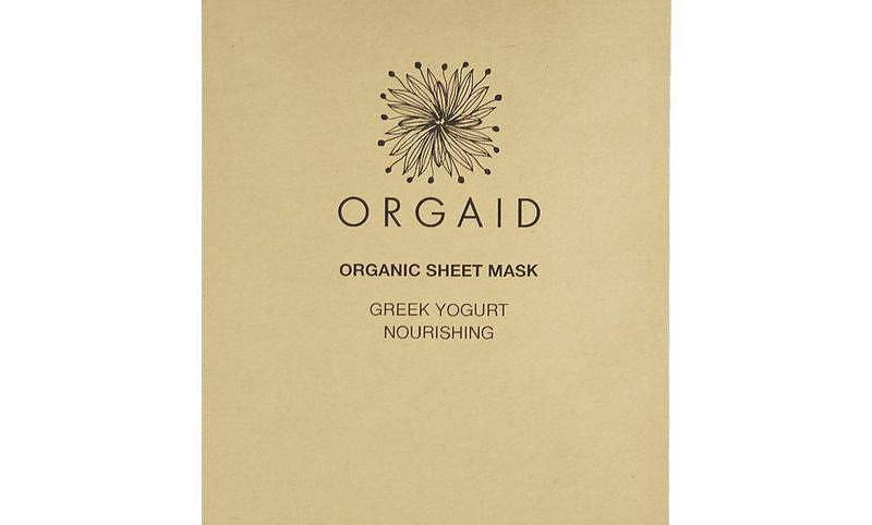 ORGAID Greek Yogurt & Nourishing Organic Sheet Mask (1 stk.)