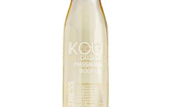 IKOU ORGANIC MASSAGE OIL DE-STRESS