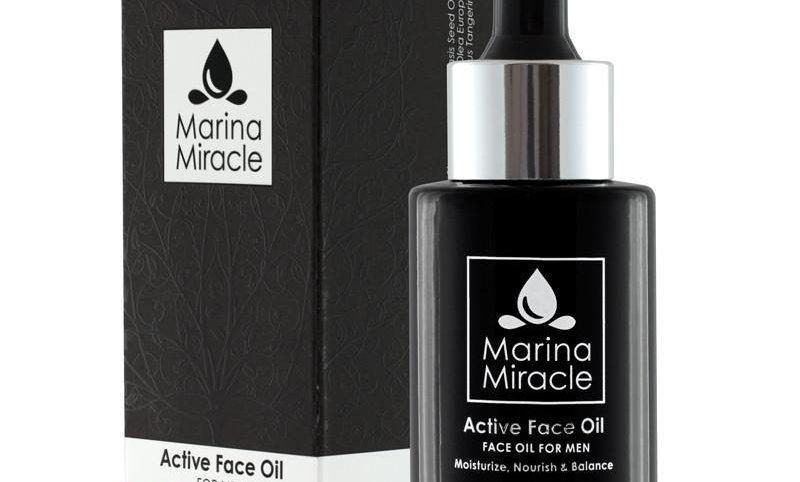 Active Face Oil - For MENN (liten flaske)