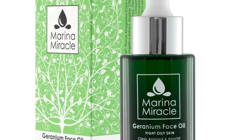 Geranium Face Oil (Acne Fight Serum) (liten flaske)