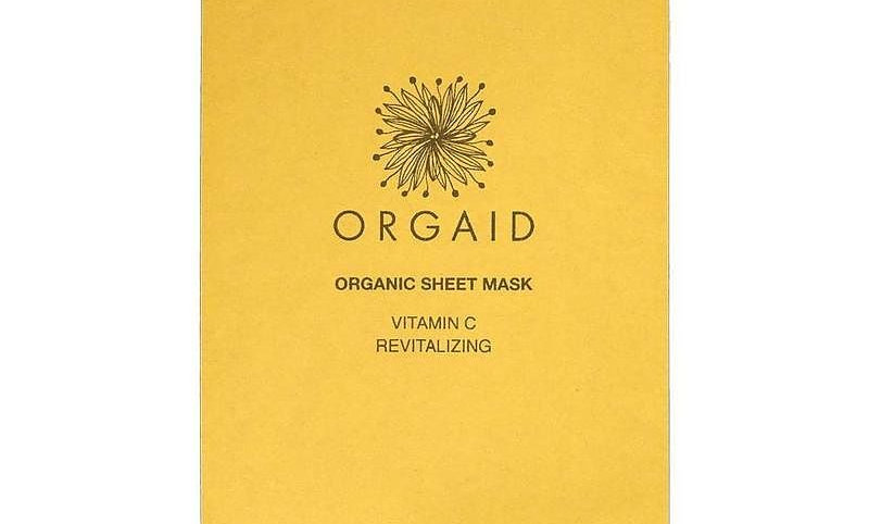 ORGAID Vitamin C & Revitalizing Organic Sheet Mask (1 stk.)