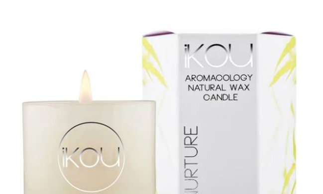 IKOU ECO-LUXURY CANDLE GLASS SMALL - NURTURE