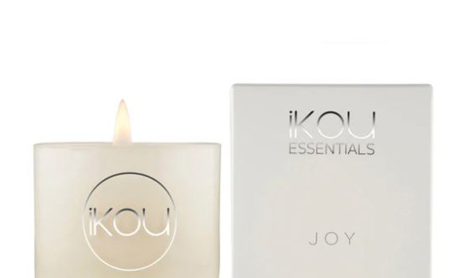 IKOU ESSENTIALS CANDLE GLASS SMALL - JOY