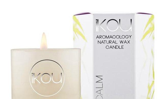 IKOU ECO-LUXURY CANDLE GLASS SMALL - CALM