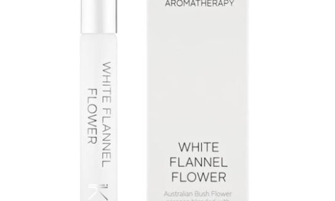 IKOU AROMATHERAPY ROLL-ON WHITE FLANNEL FLOWER