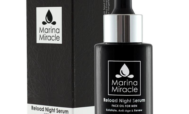 Reload Night Serum - For MENN (liten flaske)