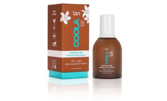 Organic Sunless Tan Anti-Age Face Serum