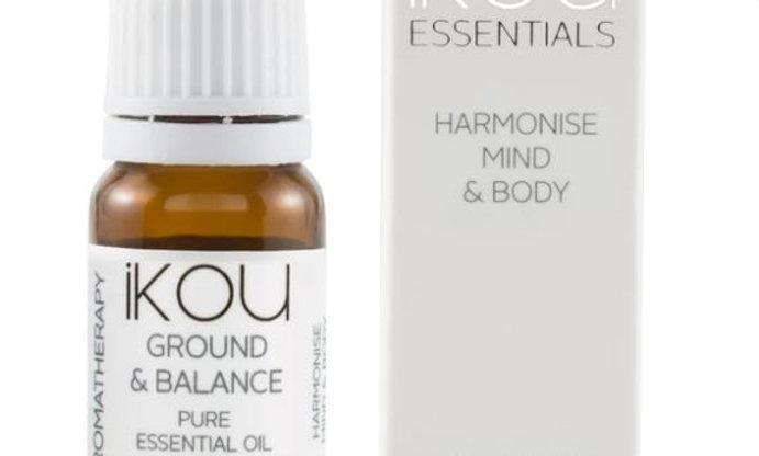 iKOU ESSENTIAL OIL - GROUND & BALANCE