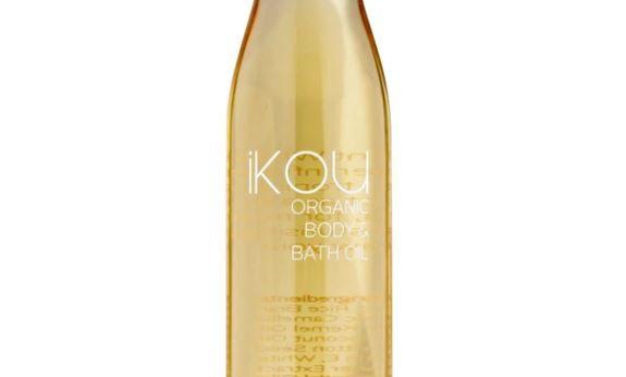 IKOU ORGANIC MASSAGE OIL WHITE FLANNEL FLOWER